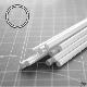 Ver artículos de Plastcraftgames - Perfil ABS tubo 4mm