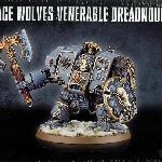 Ver artículos de Games Workshop - Dreadnought Venerable Lobos Espaciales