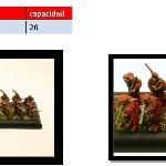 Ver artículos de ArmyBox - Bandeja 2x10 (peanas 20mm)
