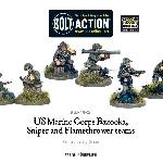 Ver artículos de Warlord Games - USMC Bazooka, Sniper and Flamethrower teams