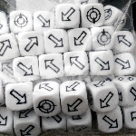 Ver artículos de Games Workshop - GW Scatter Dice (dado de dispersi�n)