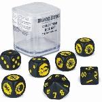 Ver artículos de Games Workshop - Dados Goblin Blood Bowl