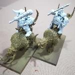 Ver artículos de Games Workshop - Caballería Ogros Miniatura (segunda mano)