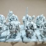Ver artículos de Games Workshop - Regimiento de 8 Ogros Toro (segunda mano)