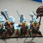 Ver artículos de Games Workshop - Regimiento de 8 Tripasduras parcialmente pintados (segunda mano)