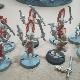 Ver artículos de Games Workshop - 8 Howling Banshees (metal) 2ª MANO