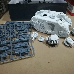Ver artículos de Games Workshop - Land Raider Cruzado Dark Angels (segunda mano)