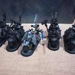 Ver artículos de Games Workshop - Ravenwing Knight Y Chaplain (segunda mano)
