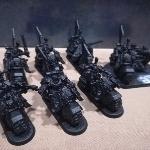 Ver artículos de Games Workshop - Escuadra Ravenwing  (segunda mano)