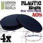Ver artículos de AMMO MIG - Peanas ovaladas 105x70mm