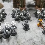 Ver artículos de Games Workshop - Marines FISTS B (Segunda Mano)