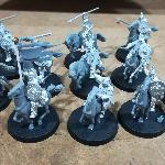 Ver artículos de Games Workshop - Guardia Real de Rohan y EOMER a caballo (segunda mano)